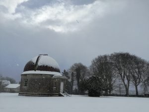 South Dome in Snow