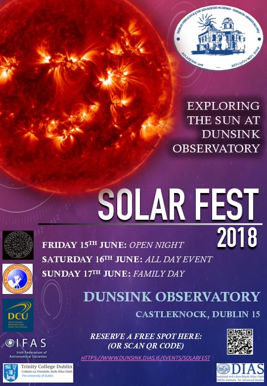Solarfest 2018 flyer