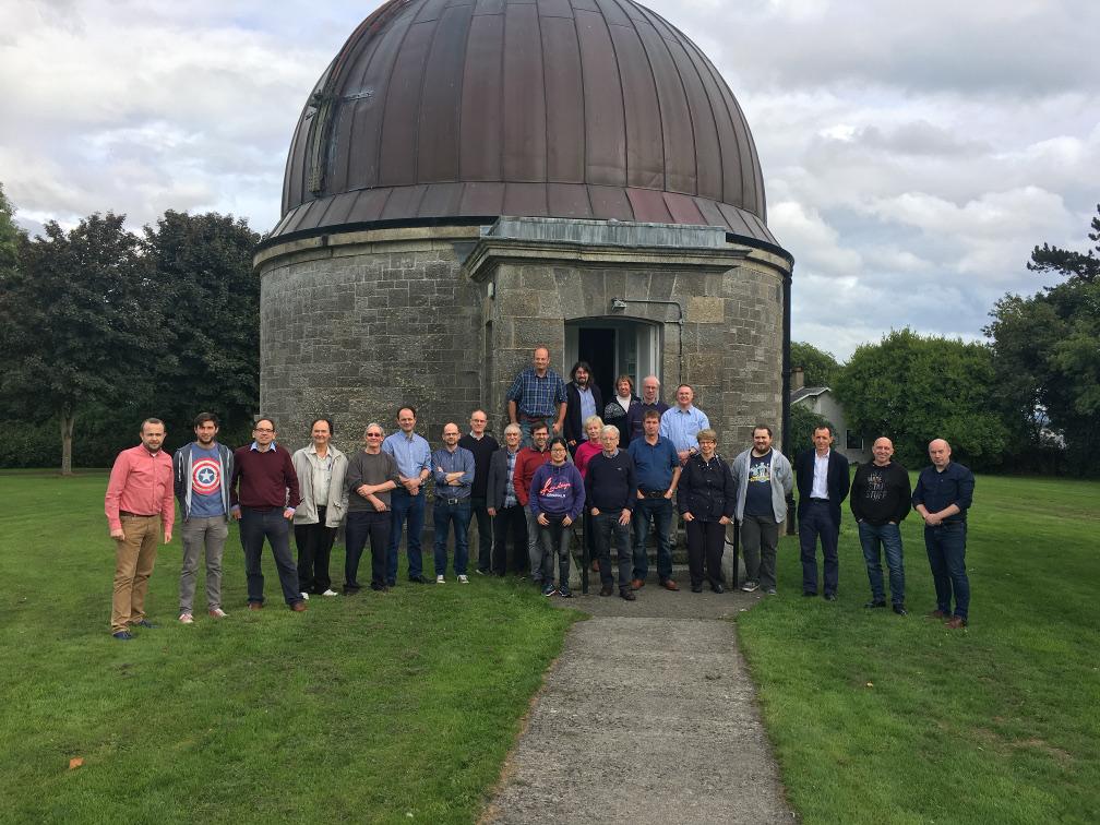 NEMETODE meeting hosted at Dunsink in September 2018